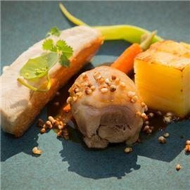 Hlavné jedlo z nového À La Carte menu
